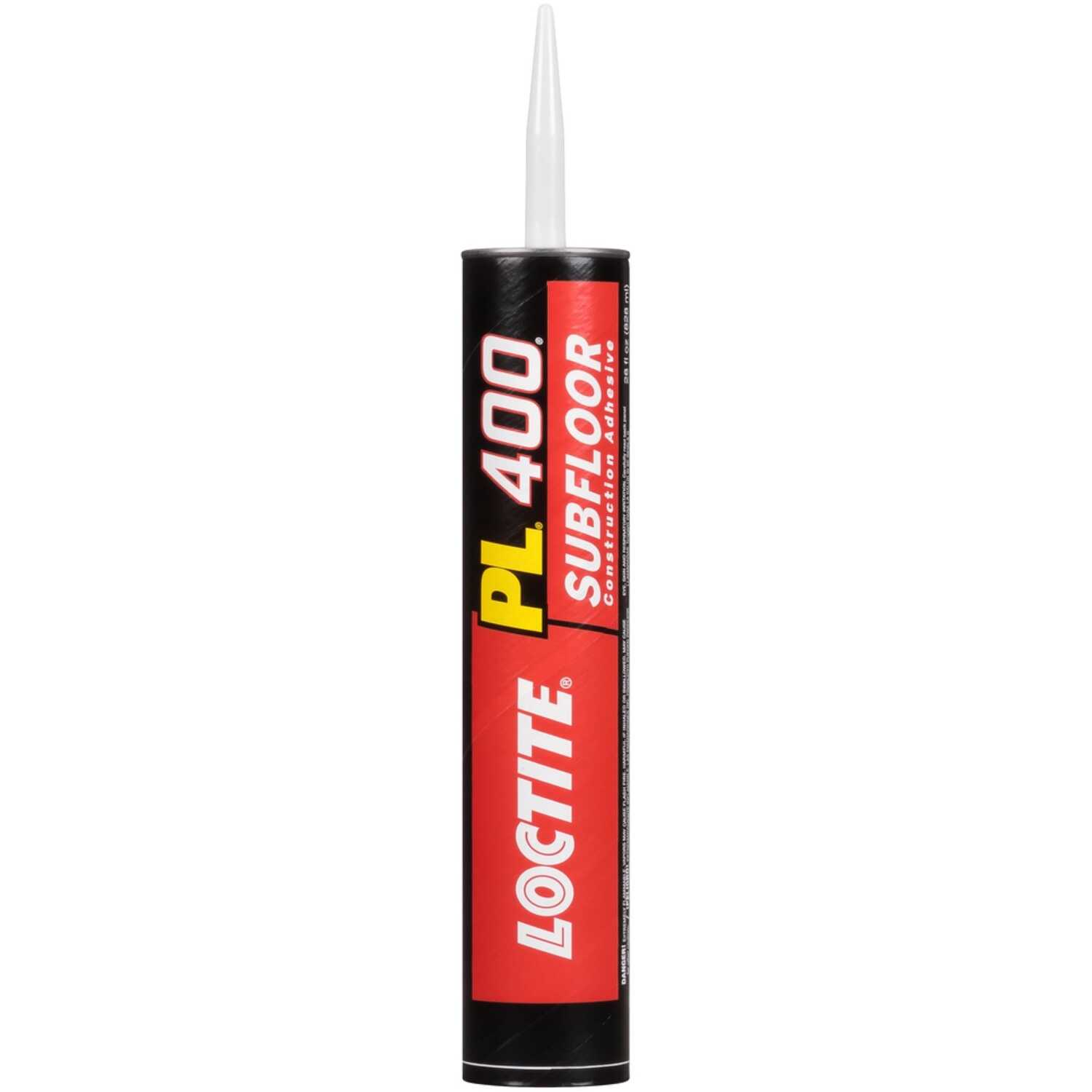Loctite  PL 400  Synthetic Rubber  Subfloor Construction Adhesive  28 oz.