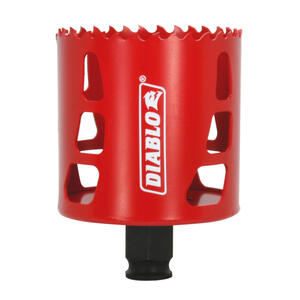 Diablo  2-5/8 in. Dia. x 2-3/8 in. L Bi-Metal  Hole Saw  1 pc.