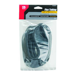 Gardner Bender  1/2 in. Dia. x 84 in. L Black  Plastic  Flex Tube