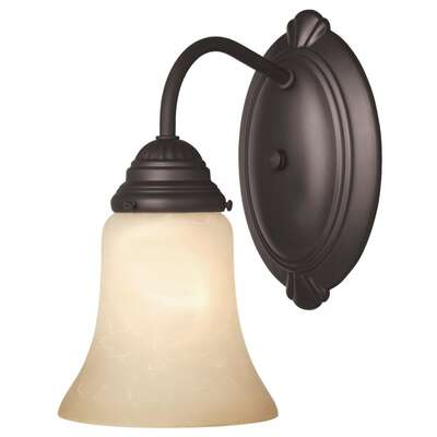Westinghouse  1  Oil Rubbed Bronze  Wall Sconce