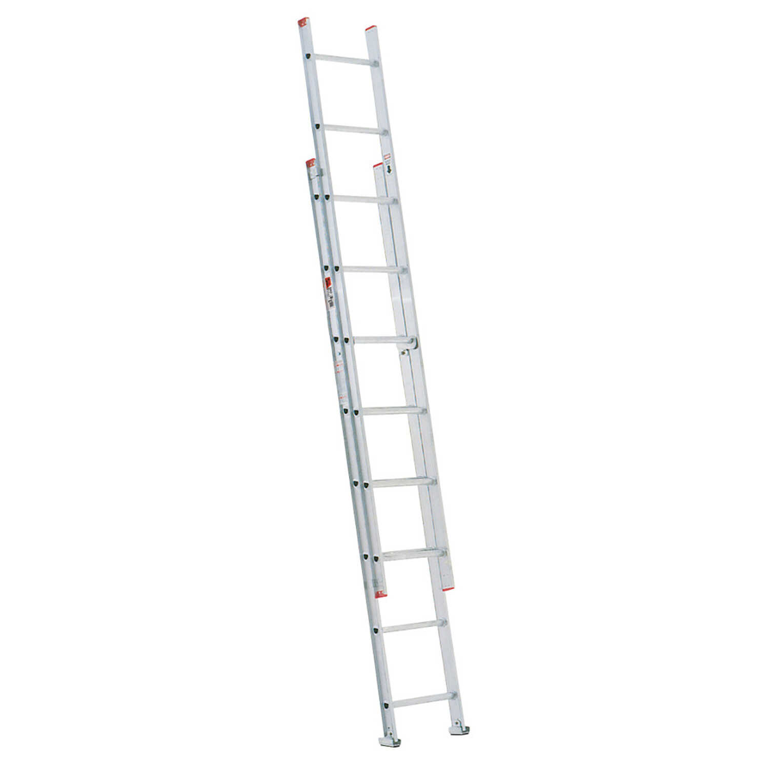 Werner  16 ft. H x 15.75 in. W Aluminum  Extension Ladder  Type III  200 lb.