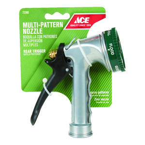 Ace  Select-A-Spray  7 pattern Adjustable Spray  Metal  Hose Nozzle