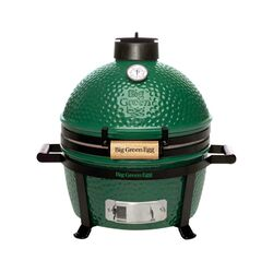 Big Green Egg 13 in. MiniMax Charcoal Kamado Grill and Smoker Green