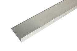 Amerimax  7.5 in. W x 5 ft. L Aluminum  Flashing  Silver