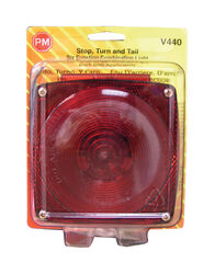 Peterson  Red  Square  Stop/Tail/Turn  Stop / Turn / Tail Light