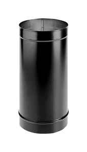 DuraVent  DuraBlack  6 in. Dia. x 48 in. L Galvanized Steel  Stove Pipe
