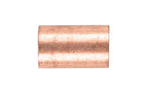 Elkhart  1/2 in. Sweat   x 1/2 in. Dia. Sweat  Copper  Repair Coupling