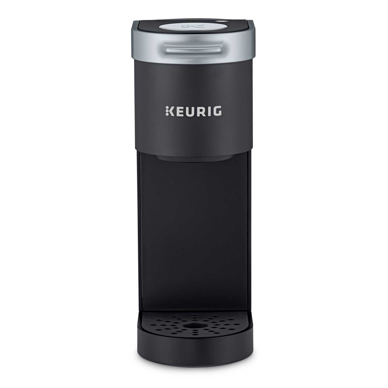 Keurig K-Mini Plus 12 oz. Black Single Serve Coffee Maker ...