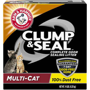 Arm & Hammer  No Scent 14 lb. Cat Litter