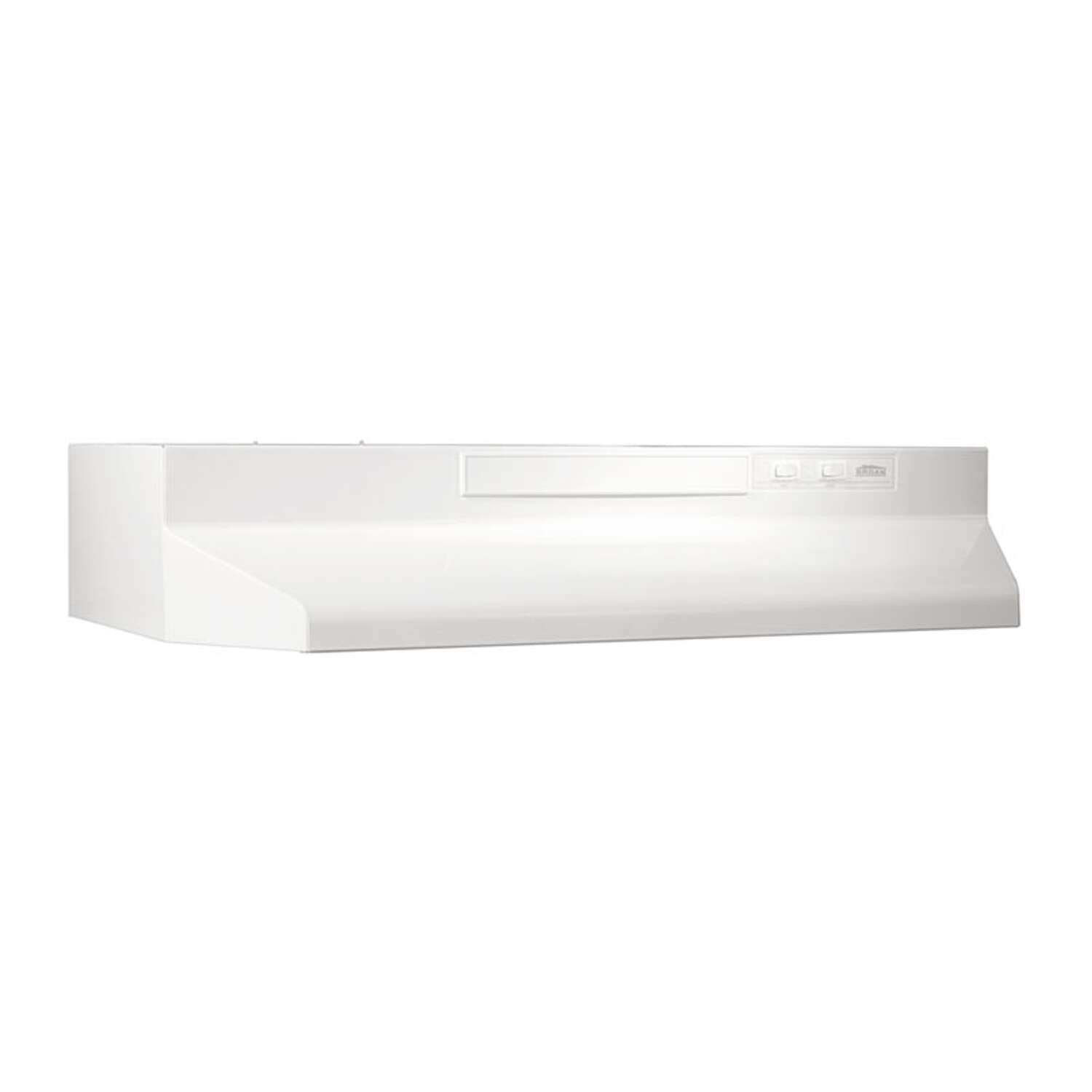 Broan  36 in. W White  Range Hood