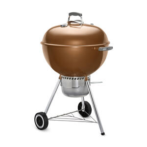Weber  Original Premium  Charcoal  Kettle  Grill  Copper  22 in.