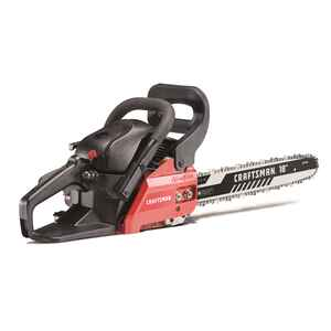 Craftsman  18 in. L Gas Powered  Chainsaw
