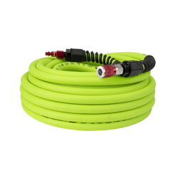 Flexzilla  Pro  50 ft. L x 3/8 in. Dia. Hybrid Polymer  Air Hose Kit  300 psi Zilla Green