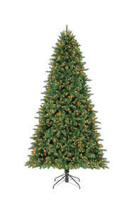 Celebrations  Clear  Prelit 9 ft. Grand Fir  Artificial Tree  1200 lights 2563 tips
