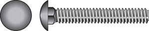 Hillman  5/16 in. Dia. x 1-1/4 in. L Zinc-Plated  Steel  Carriage Bolt  100 pk