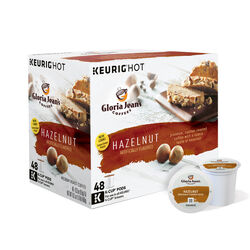 Keurig  Gloria Jean's  Hazelnut  Coffee K-Cups  48 pk