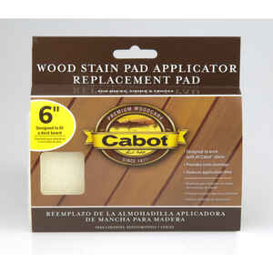 Cabot  Refill 6 in. W x 6 in. W Wood Stain Pad  For Smooth Surfaces