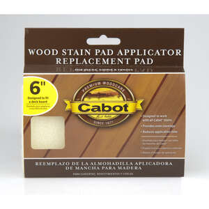 Cabot  Refill Wood Stain Pad  For Smooth Surfaces 6 in. W For Smooth Surfaces