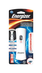 Energizer  40 lumens White  LED  Rechargeable Flashlight  NiMH Battery