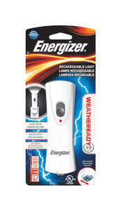 Energizer  8 lumens White  LED  Rechargeable Flashlight  NiMH Battery