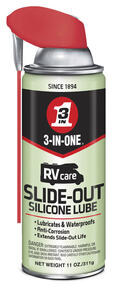 3-IN-ONE  RV Care  Slide Out  Silicone Lubricant  11 oz.