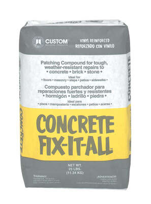 Custom Building Products  Fix-It-All  Patching Compound  25 lb.