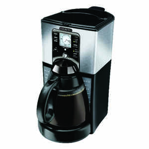 Mr. Coffee  Performance Brew  12 cups Black  Coffee Maker