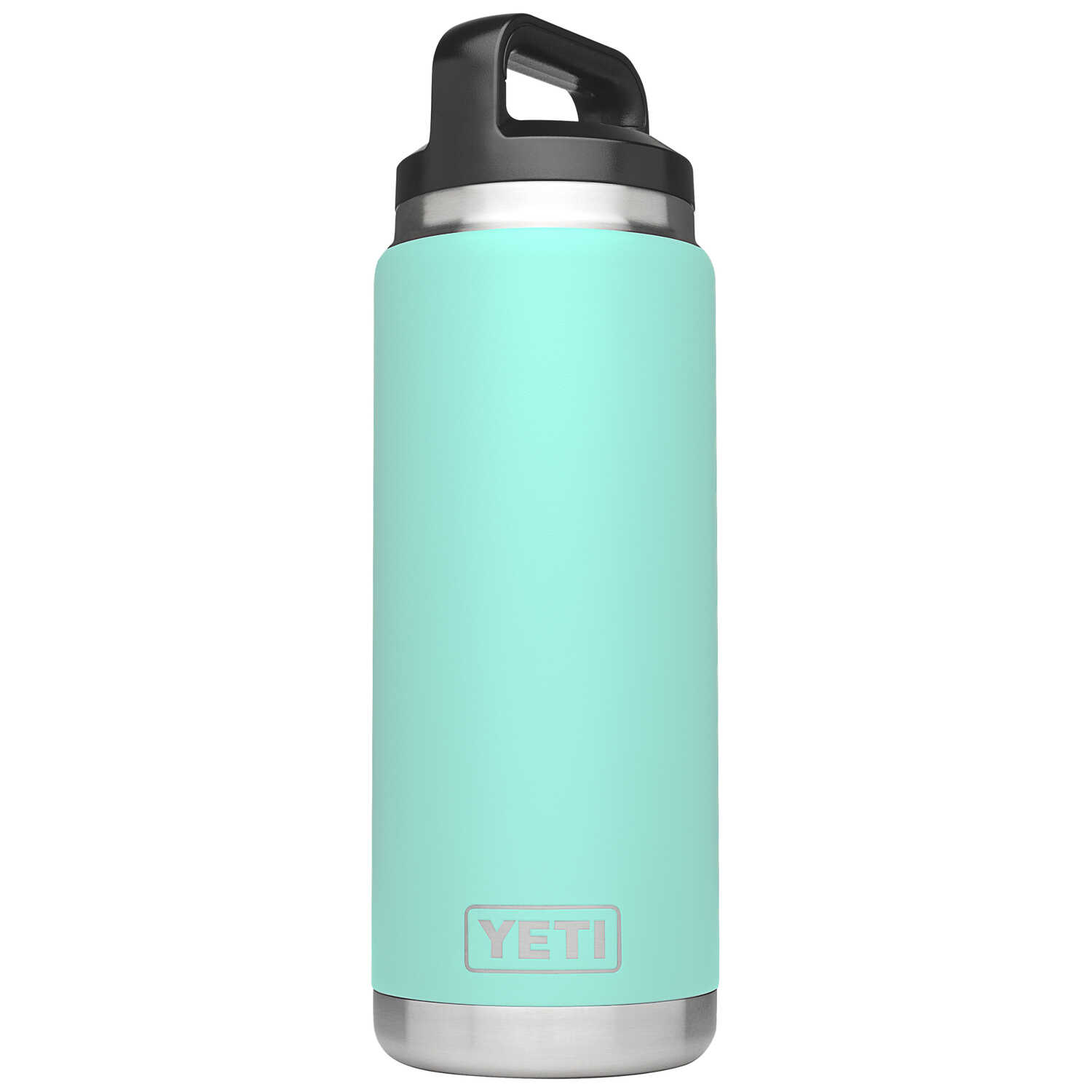 YETI  Rambler  Seafoam Green  Insulated Bottle  BPA Free 26 oz. Stainless Steel