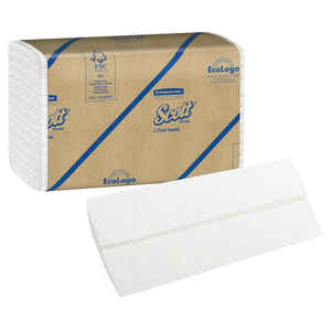 Scott  C-Fold Towels  200 sheet 1 ply 9 pk