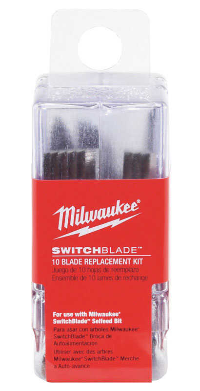 Milwaukee  SWITCHBLADE  1-1/2 in. L x 0.06 in.  Hardened Steel  Wood Chiseling  Replacement Switchbl