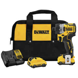 DeWalt  XTREME 12V MAX  1/4 in. Hex  Cordless  Brushless  Powered Screwdriver  Kit 12 volt 1100 rpm