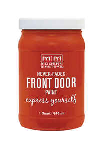 Modern Masters  Motivated  Satin  Front Door Paint  1 qt.