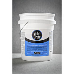 Weld-Crete  High Strength  Polyvinyl acetate homopolymer  Concrete Bonding Agent  5 gal.