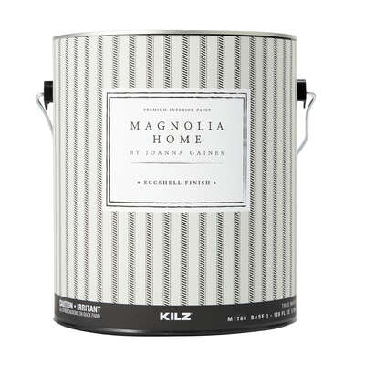 Magnolia Home by Joanna Gaines  Eggshell  Tint Base  Base 1  Paint and Primer  Interior  1 gal.