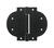 National Hardware  3-1/2 in. L Black  Arched Heavy T-Hinge
