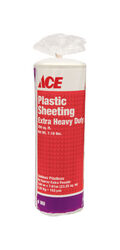 ACE  Plastic Sheeting  6 mil  x 10 ft. W x 25 ft. L Polyethylene  Clear