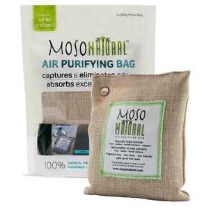 Moso Natural  No Scent Air Purifying Bag  200 gm Powder