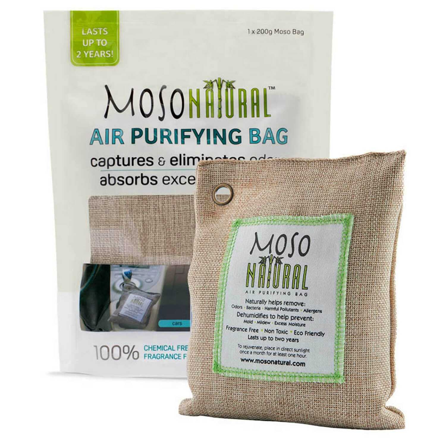 Moso Natural  No Scent Air Purifying Bag  7.05 oz. Powder