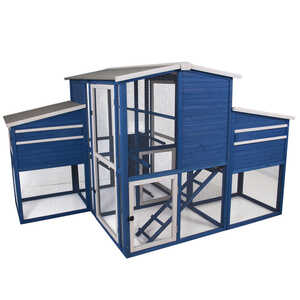 Precision Pet  8 Chickens  Firwood  Chicken Coop