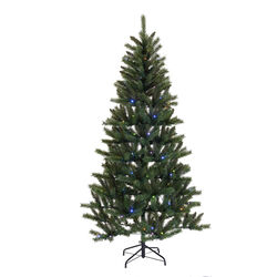 Celebrations  6-8 ft. Mixed PVC  Artificial Tree