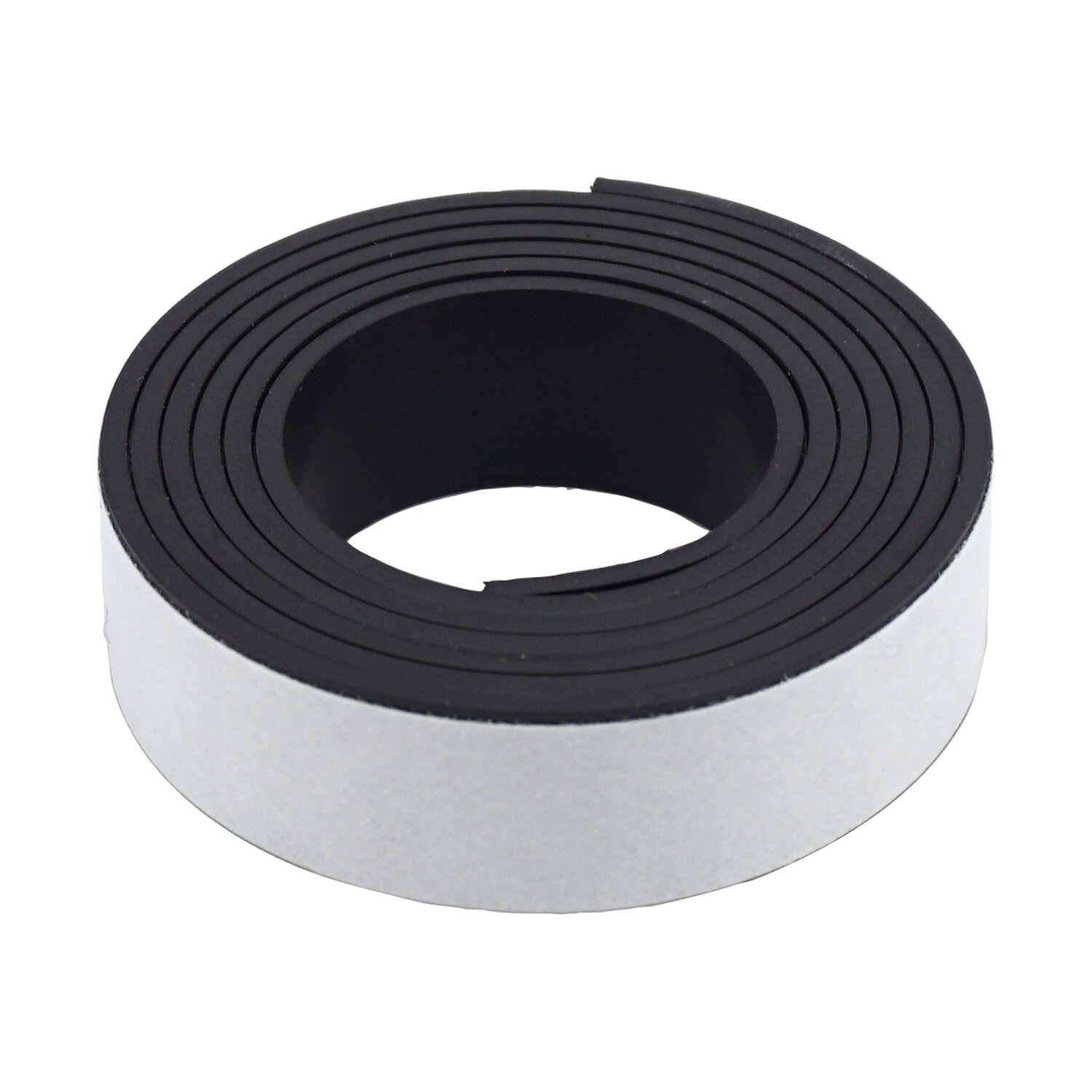 Master Magnetics  30 in. Ferrite Powder/Rubber Polymer Resin  Strip  Magnetic Tape  0.6 MGOe Black