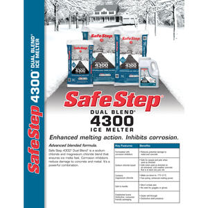 Safe Step  4300  Sodium and Magnesium Chloride  Ice Melt  20 lb. Granule