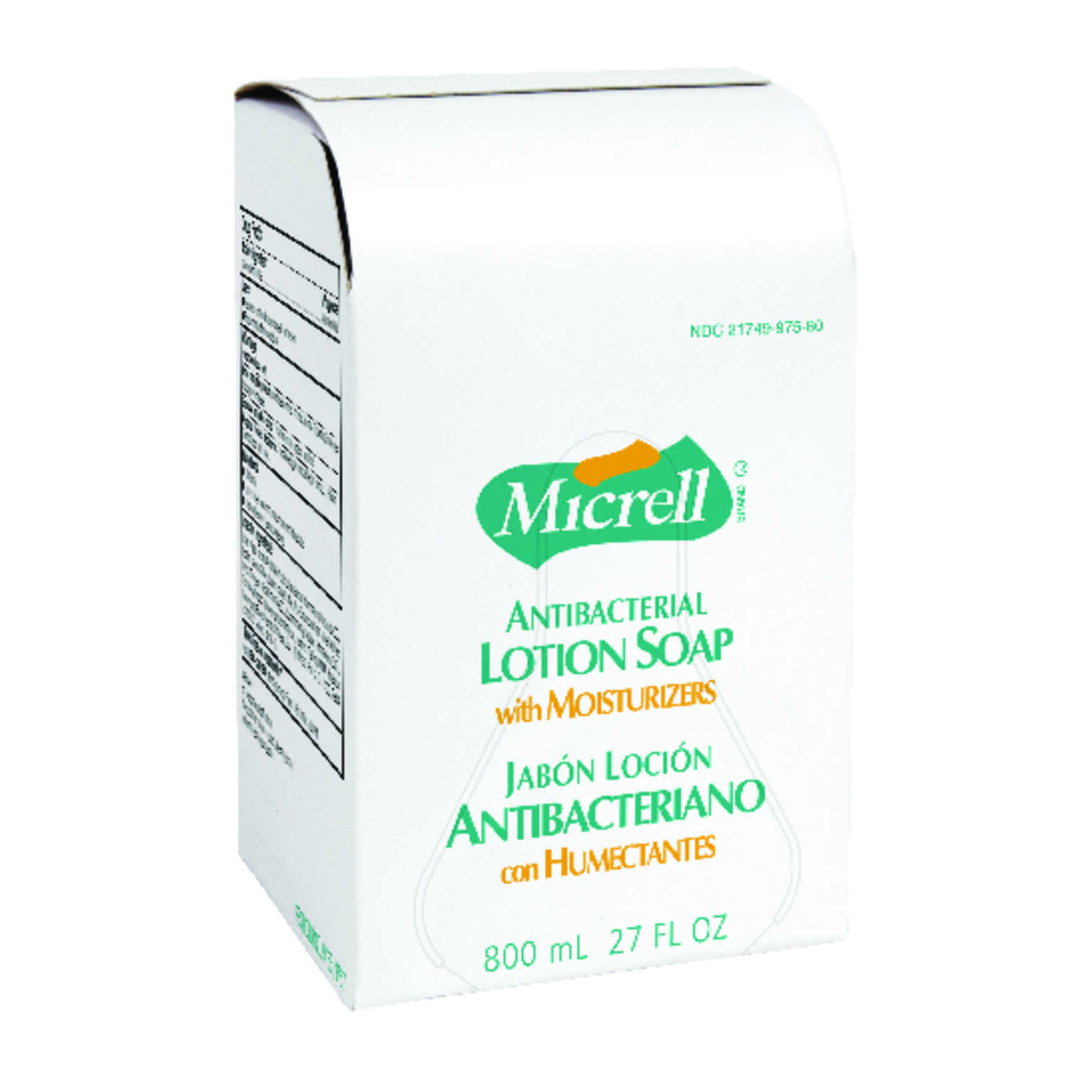 Micrell  Antibacterial Lotion Soap Dispenser Refill  800 ml
