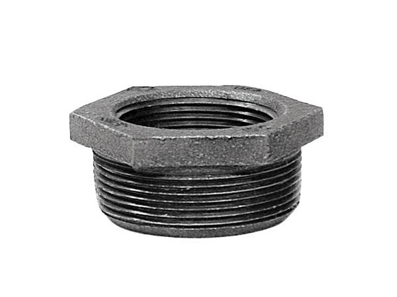 Anvil  1-1/4 in. MPT   x 1/2 in. Dia. FPT  Galvanized  Malleable Iron  Hex Bushing