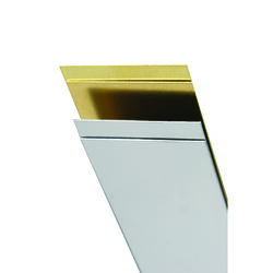 K&S 0.028 in. x 1/2 in. W x 12 in. L Stainless Steel Strip