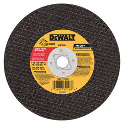 DeWalt  High Performance  6-1/2 in. Dia. x 5/8 in.  Aluminum Oxide  Metal Cutting Saw Blade  1 pc.
