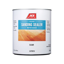 Ace Clear Water-Based Sanding Sealer 1 qt.