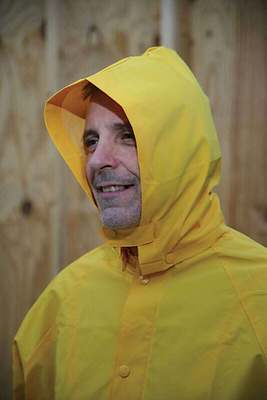 Boulder Creek  PVC-Coated Rayon  Heavy Duty Three Piece Rain Suit  Yellow