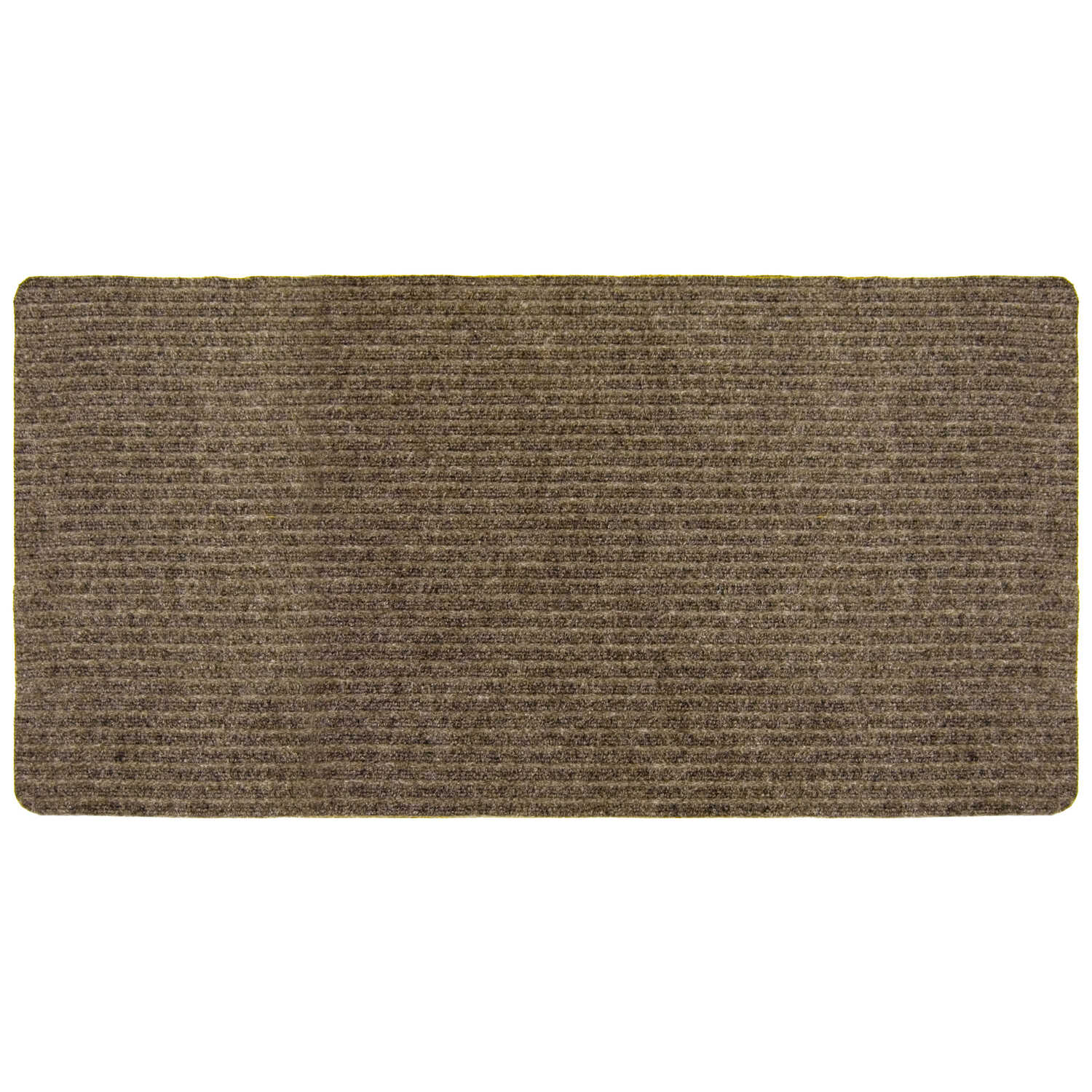 Multy Home  Concord  Nonslip 36 in. W x 50 ft. L Tan  Carpet Runner