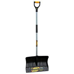 Yeoman BustR 18 in. W x 55 in. L Poly Snow Shovel